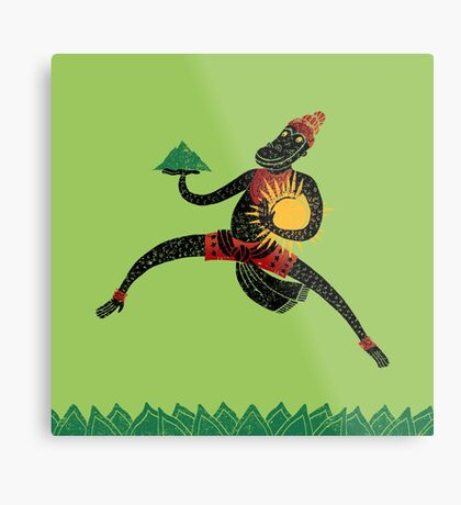 Hanuman's Leap Metal Print