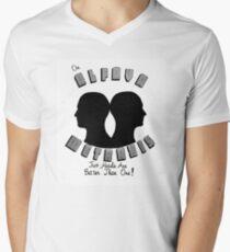 Alfava Metraxis Men's V-Neck T-Shirt