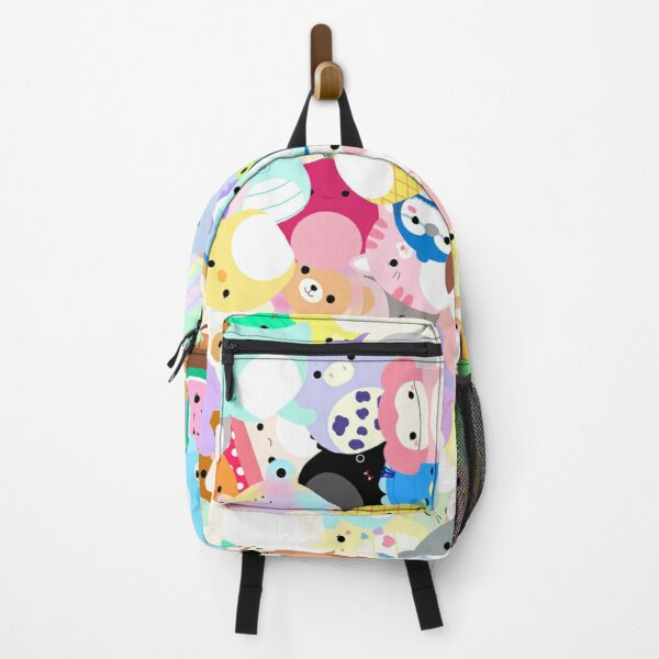 Squishmallows Chaotic Frenzy Cute Squishmallow Artwork Backpack