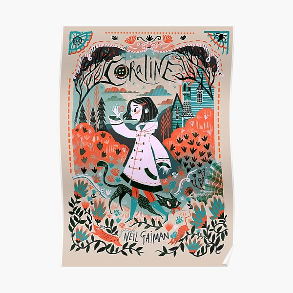 caroline illustration Poster