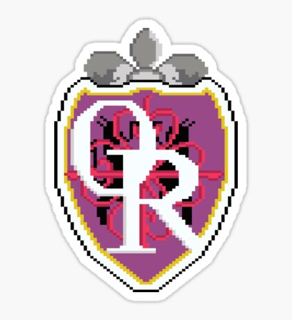 Ouran High 8bit Logo Sticker