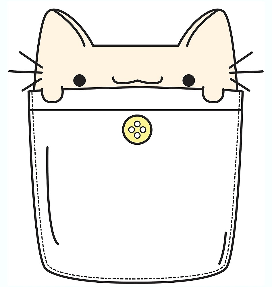 Pocket Cat by ZoeTwoDots