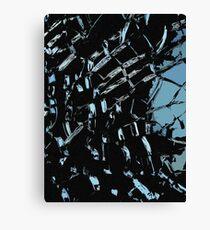 Ice cracks Canvas Print
