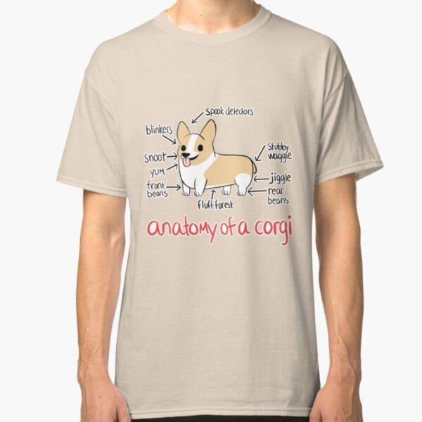 Anatomy of a Corgi Classic T-Shirt