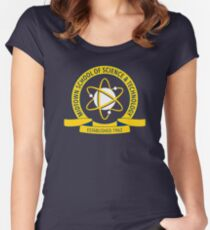 Midtown School of Science and Technology Logo Women's Fitted Scoop T-Shirt