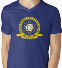 Midtown School of Science and Technology Logo Men's V-Neck T-Shirt