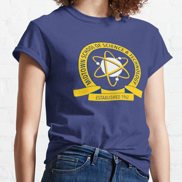 Logo de l'École des sciences et technologies de Midtown T-shirt classique