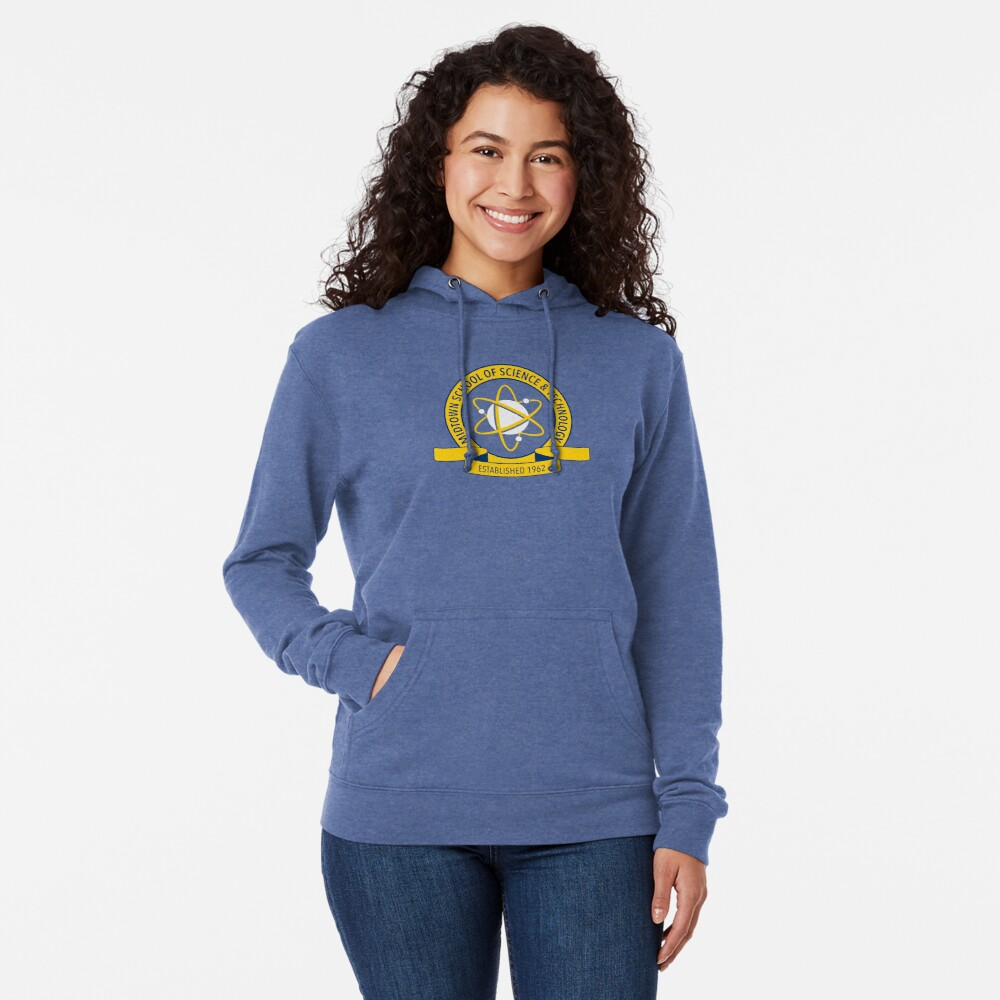 Midtown School of Science and Technology Logo Lightweight Hoodie
