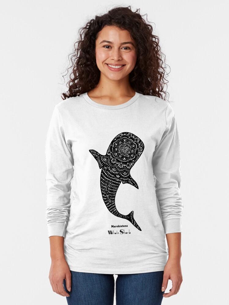 Alternate view of Marokintana - Whale Shark II Long Sleeve T-Shirt