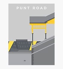 Punt Road - Two Tone Photographic Print