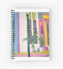 Miami beach -Art Deco Region Spiral Notebook