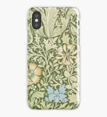 William Morris Floral Pattern - Compton wallpaper iPhone Case