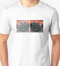 Motorcycle sunset Unisex T-Shirt