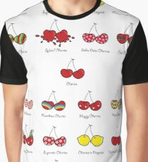 I Love My Cheeky Cherries! Graphic T-Shirt