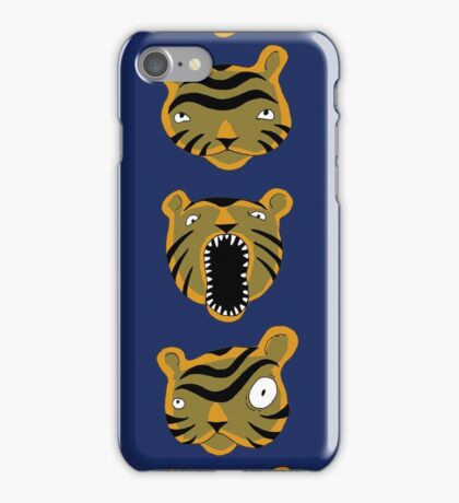 Tiger Buttons iPhone Case/Skin