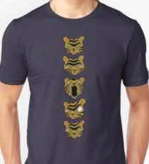 Tiger Buttons Unisex T-Shirt