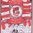 2016 May Day Poster...another election year by Gary Shaw