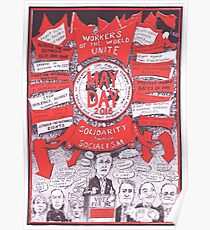 2016 May Day Poster...another election year Poster