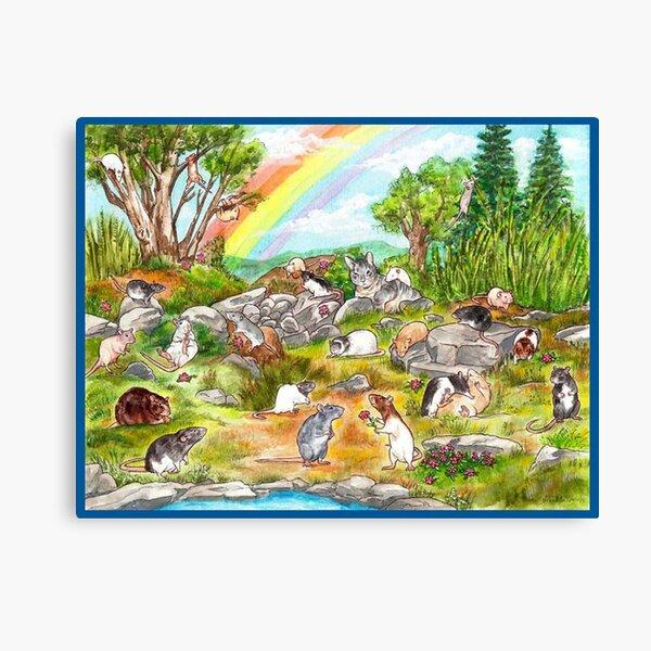 Rainbow Garden Canvas Print