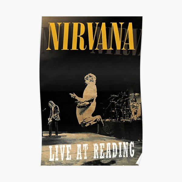 Live at Reading Poster