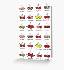 Oh My Cheeky Cherries! Greeting Card