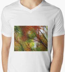 pine brush Men's V-Neck T-Shirt
