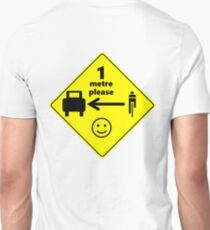 Safety First for Cyclists (Europe) Unisex T-Shirt