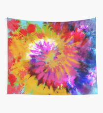 Spiral Spark Wall Tapestry