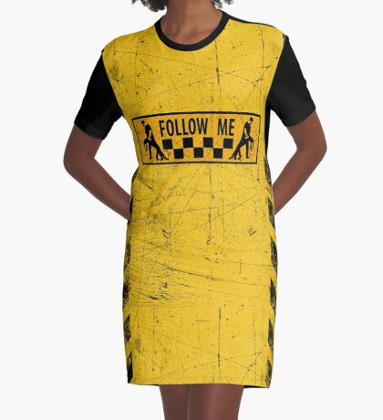 follow me dancer - used look Graphic T-Shirt Dress