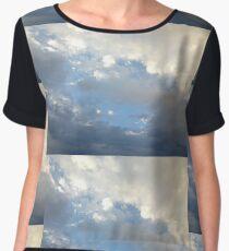 Cloud Formations Chiffon Top