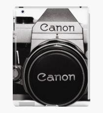 Old Canon iPad Case/Skin