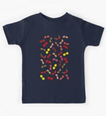Oh, I'm Mad About Cheeky Cherries Pattern Kids Tee
