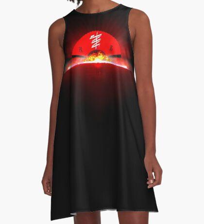 MaoMing-Fantasy logo A-Line Dress
