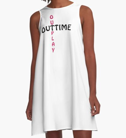 outtime / outplay A-Line Dress