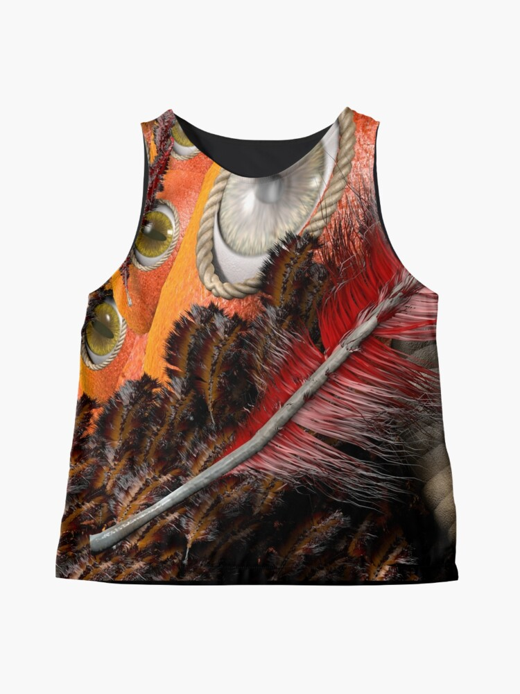 Alternate view of all eyes on you Sleeveless Top