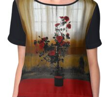 the Rose Chiffon Top