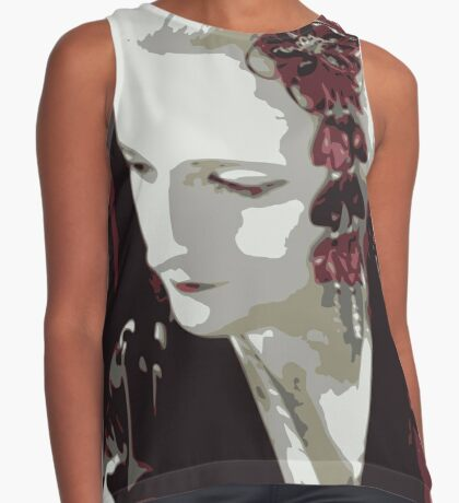 submissive Geisha Contrast Tank