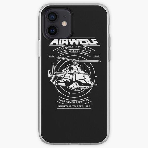 Airwolf 1987 iPhone Soft Case