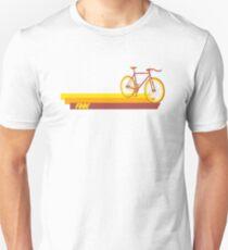 Fixie Retro Stripes Unisex T-Shirt