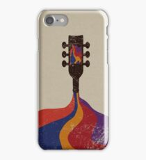 Guitar Half Full of Wine iPhone Case/Skin