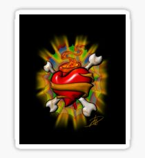 Sacred Pirate Heart Sticker