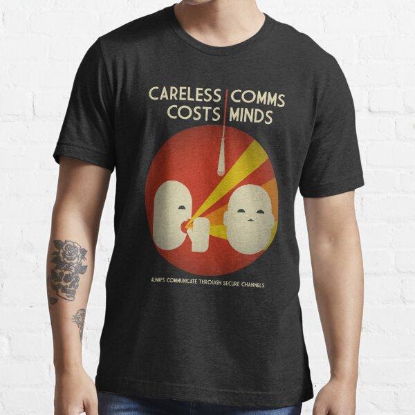 Ingress : Careless Comms Essential T-Shirt