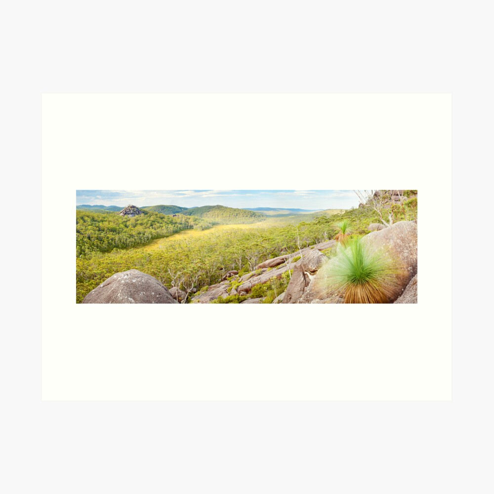 Dandahra Crags, Gibraltar Range National Park, New South Wales, Australia Art Print