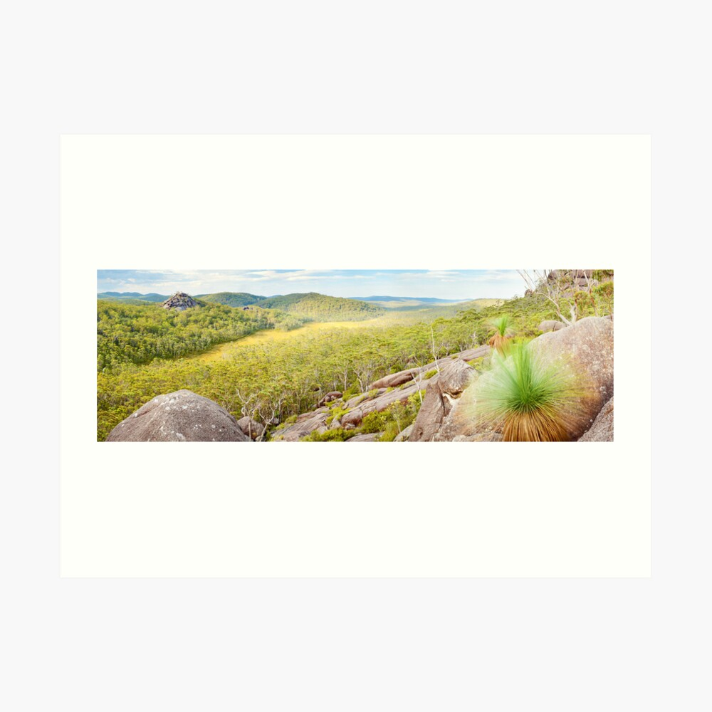 Dandahra Crags, Gibraltar Range National Park, New South Wales, Australia Art Print