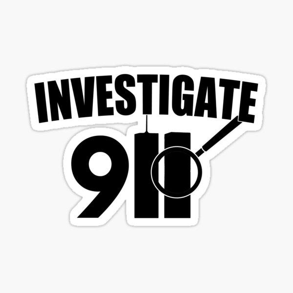Investigate 911 Sticker