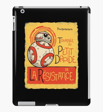 Tournee du Petit Droide iPad Case/Skin