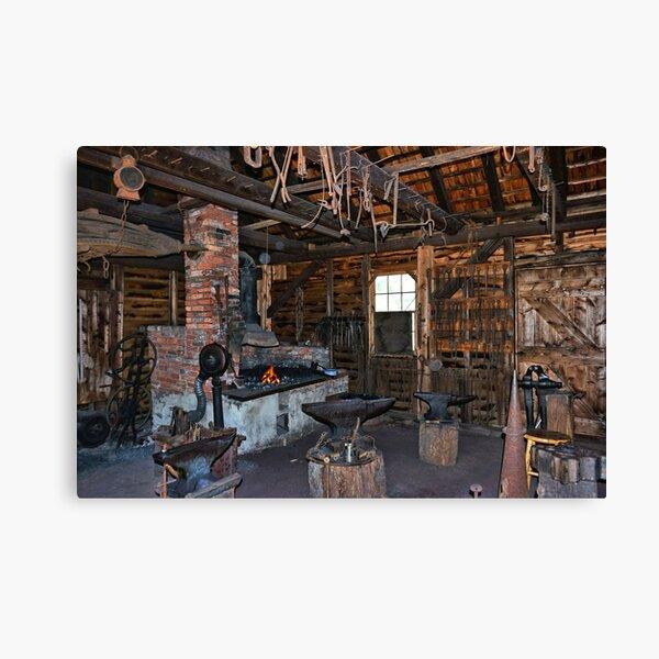 The Blacksmith Canvas Print