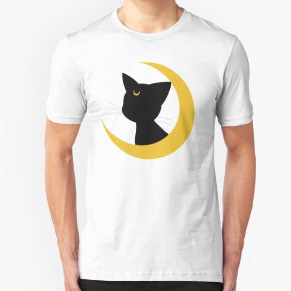 Silueta luna Camiseta ajustada