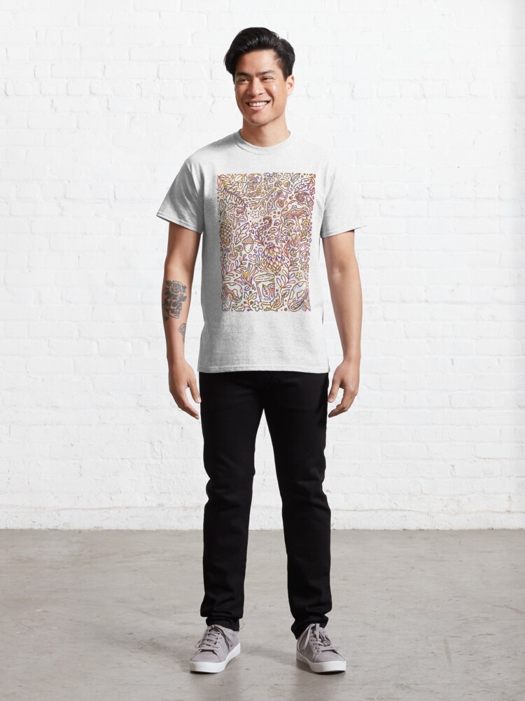 Alternate view of Mushroom Hunt Classic T-Shirt