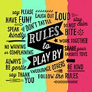 Rules to Play By by Dallas Drotz